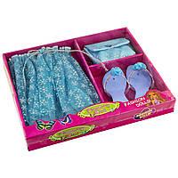Набір аксесуарів: юбка 28см,туфлі 18см,сумочка,в кор-ці,37х31х5см  №803-10(24)