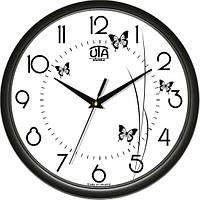 Настенные Часы Сlassic Полет Бабочек Black Код:118459