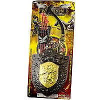 Набір лицаря: лук,стріли на присосках 3шт,на листі,25,5х63х4см №541-1B6-7-8(48)