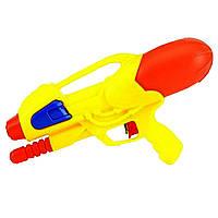 Пістолет водян. помпа,в кульку,30см, 4 кольори №М129(60)(120)КІ