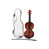 Скрипка в чехле 15х4,5х42,5 см  №370-1