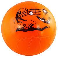 М'яч гумовий 5 кольоровий, 240 грам (100) КІ №SB-1725