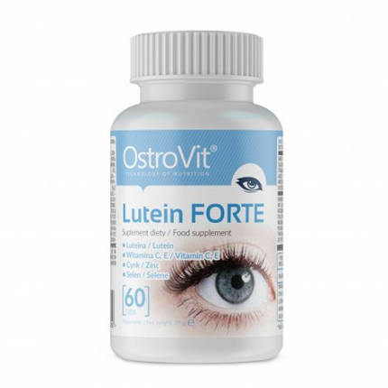 Lutein Forte OstroVit 60 caps, фото 2