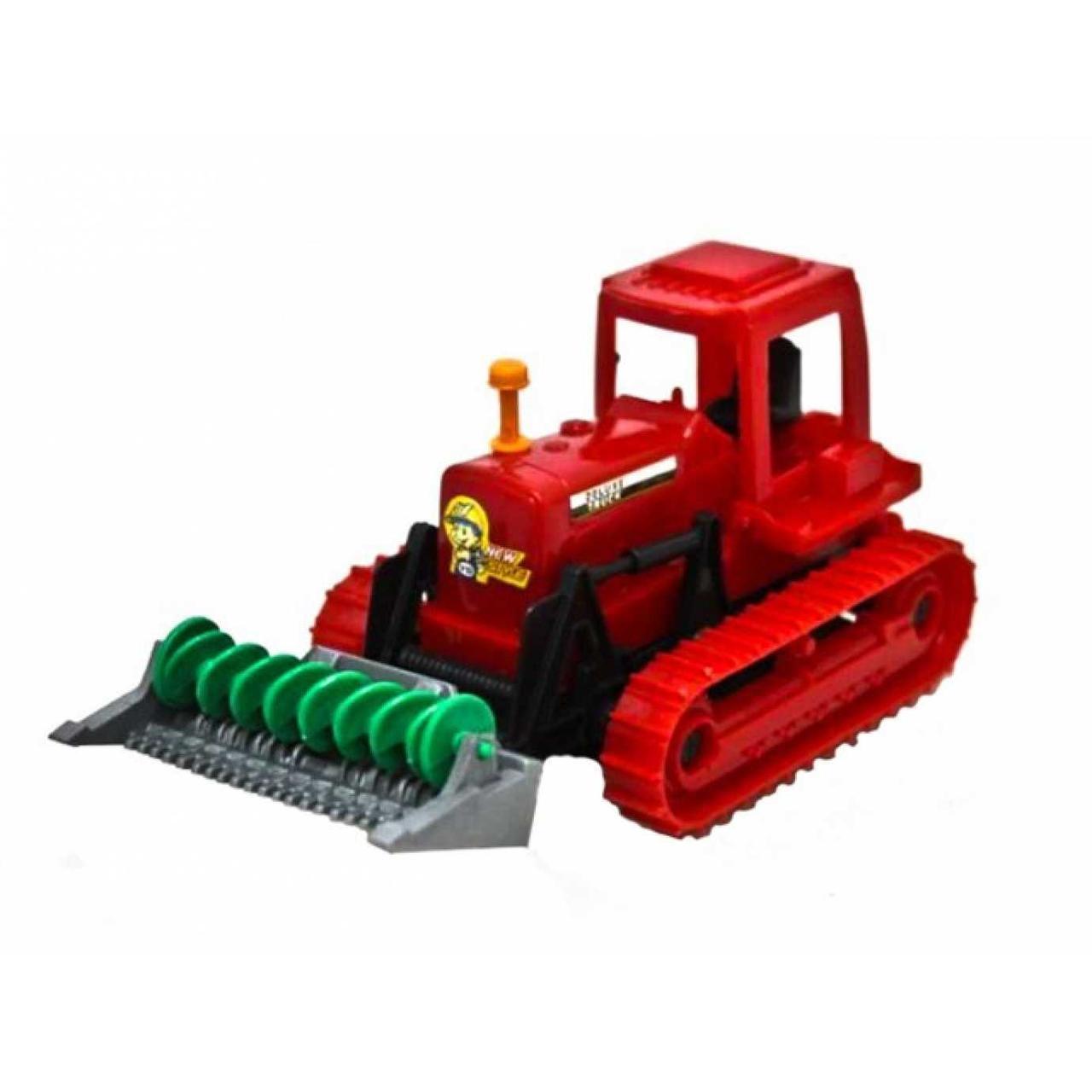 Трактор інерційний 17,5см, рухомі деталі, 17,5х12,5х8см Yd6312