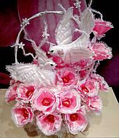Свадебный букет из конфет ручной работы