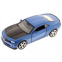 Машина металева Chevrolet Camaro Автопром, відчиняються двері, в коробці 67326