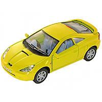 Машина металева Toyota Celica Kinsmart KT-5038-W в коробці 16х8,5х7,5см