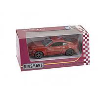 Машина металева Ford Mustang GT 2015 Kinsmart, в коробці 16х8,5х7,5см KT-5386-W