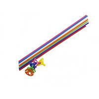 Паличка для кульок поштучно кольорова (100)