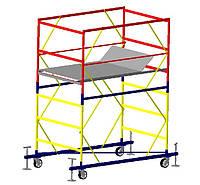 Базовый блок вышки-туры VIRASTAR ОПТИМА 2,0x1,2 м (с колесами)