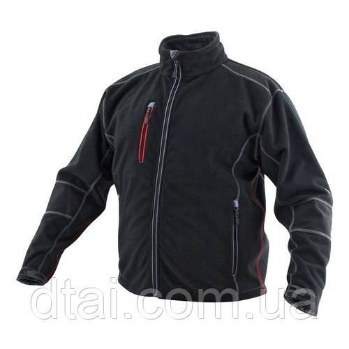 Куртка на флисе с длинным рукавом GWB размеры от 48 (S) до 60 (XXL)