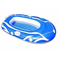 Надувний човен Hydro-Force Raft 155 Х93 см, 1-місний 3 кольоровий (6) №61050