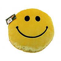 М'яка іграшка Тигрес Подушка-77 Смайл ПШ-0077 жовтий