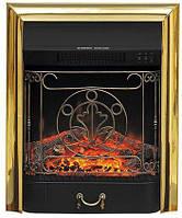 Электрокамин Royal Flame Majestic FX Brass- встраиваемый