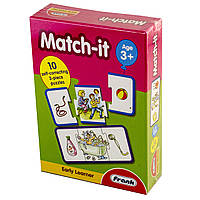 """Пазл дерев.""""Match-it/Відповідність"""" 10карт.,30ел. №10339(24)"""