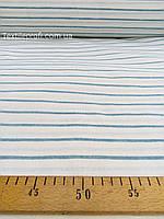 Льняная ткань для постельного белья в полоску (шир. 260 см), фото 1