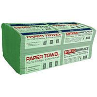 Полотенца бумажные ProService Optimum V зеленые 160 шт N51311649