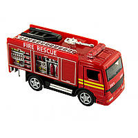 Машина металева Пожежна KS-5110-W в коробці