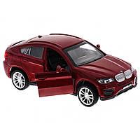 Машина металева BMW X6 Автопром, відчиняються двері, в коробці 67313