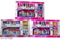 Игровой набор Кукольный дом 1203ABC с куклами,мебелью,музыкальный
