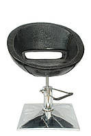 Кресло парикмахерское Лак чёрное, фото 1