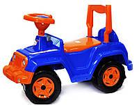 Машинка для катания 4*4, синяя, ТМ Орион, 549СИН