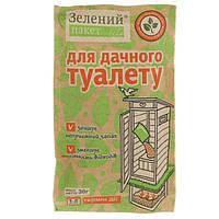 Средство Зеленый пакет для дачного туалета 30 г N10605156