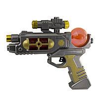 Пістолет на бат-ці,в кульку,22,5х4,5х19см №ZS.139/1562732(72)(144) КІ