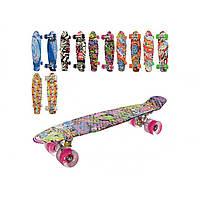 Скейт колеса ПУ світло. , алюмінієва підвіска , 56,5 х15 см (6) №MS0748-3