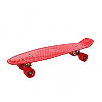 Скейт колеса поліуретан, алюмінієва підвіска, розбірний, 66х18,5см MS0851