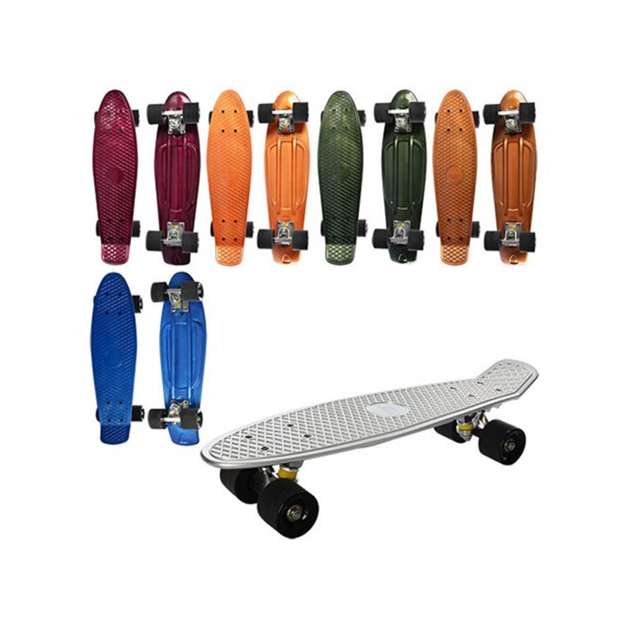 Скейт колеса поліуретан, алюмінієва підвіска, 55х14,5см MS0297