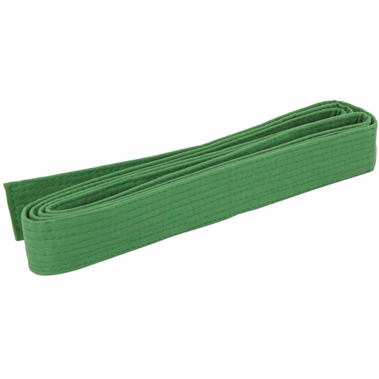 Пояс для кімоно 280см зелений