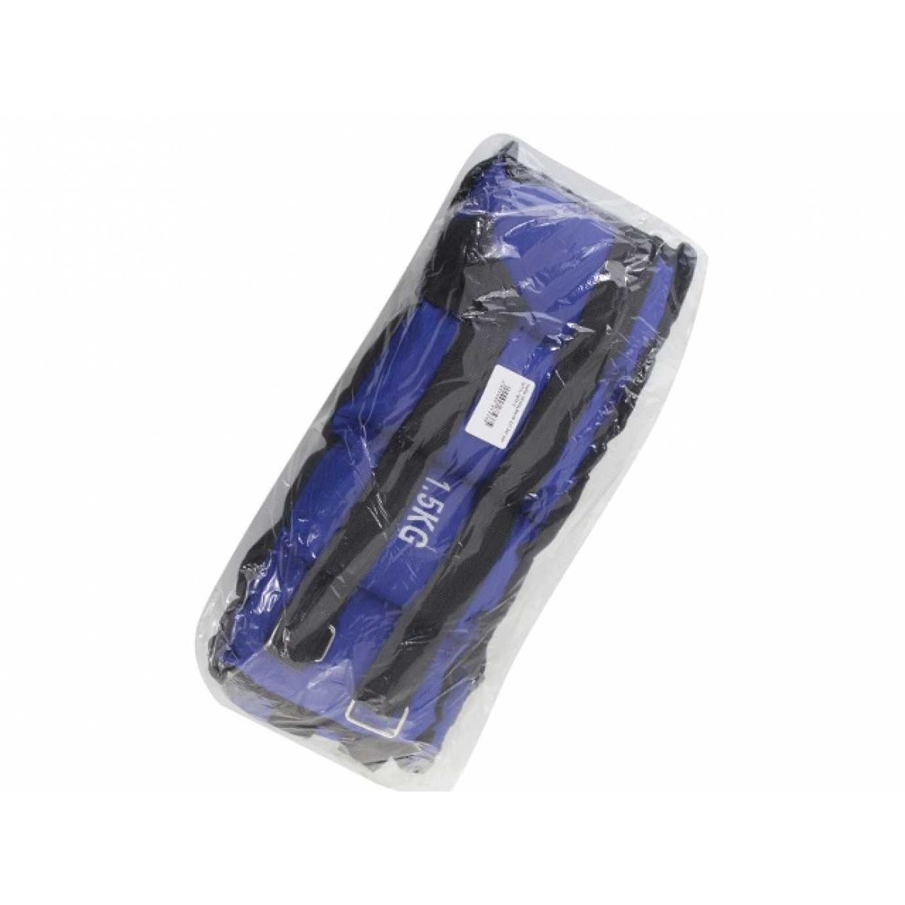 Набір обтяжувачів 2 х3 кг синій №TA-1875-3