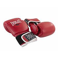 Рукавиці боксерські EV (Жорсткі) 21-58 6 oz червоні №DX-445