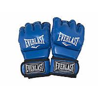 Рукавички кікбокс. EV MMA-364 L сині №DX-41-58