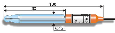 Промышленный рН-электрод ЭС-10302 (ЭСП-01-14)