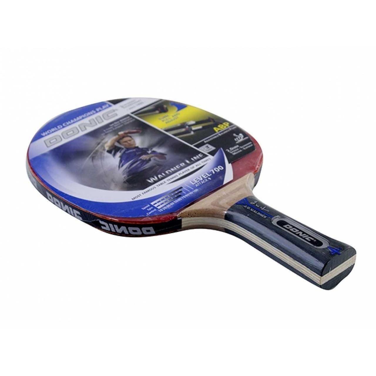 Ракетка для настільного тенісу Donic Waldner Line level 700