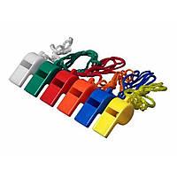 Свисток CP208-24 пластиковий кольоровий