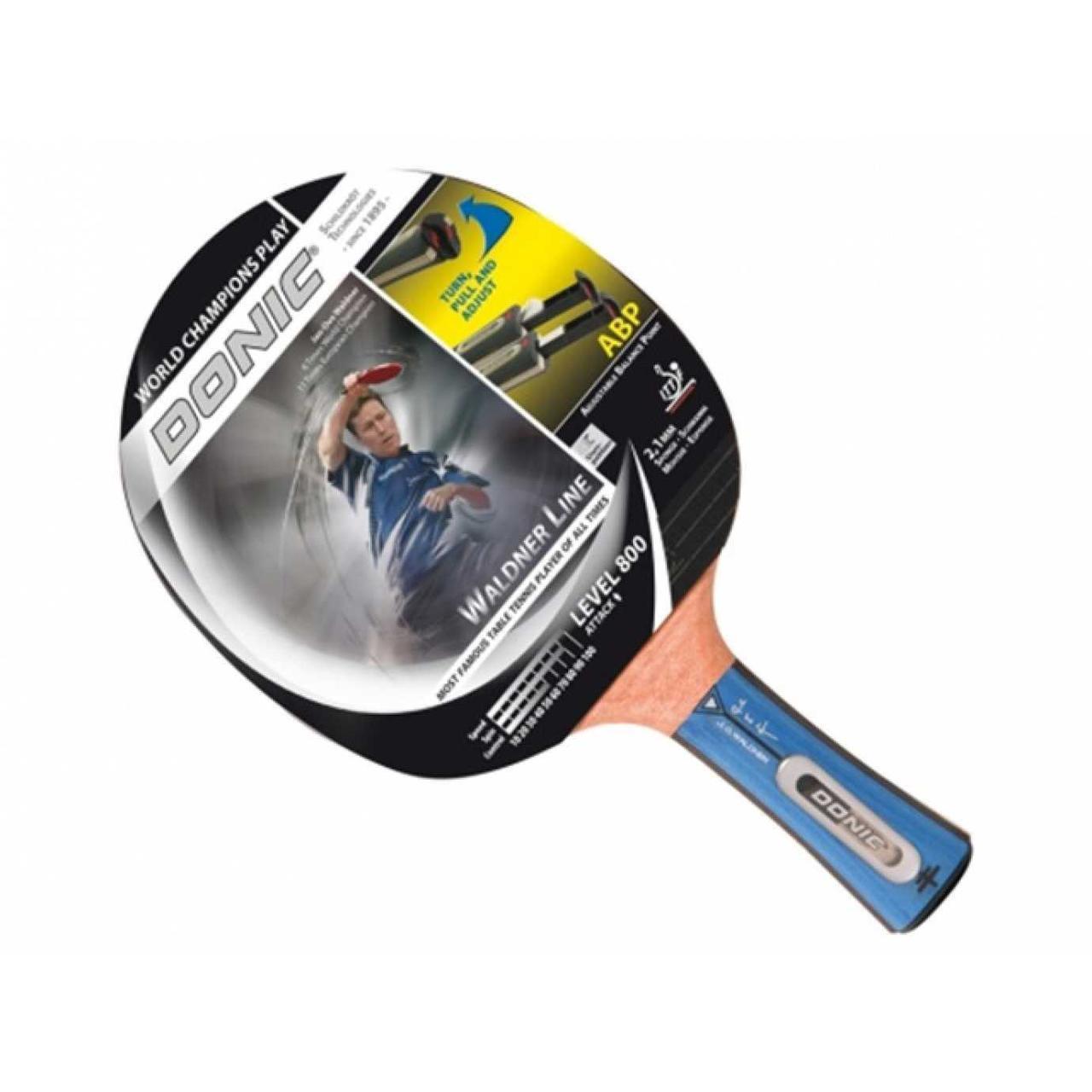 Ракетка для настільного тенісу Donic Waldner Line level 800