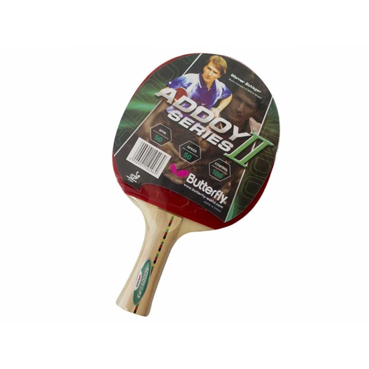 """Ракетка для настільної тенісу """"Batterfly Addoy"""" №F-3"""