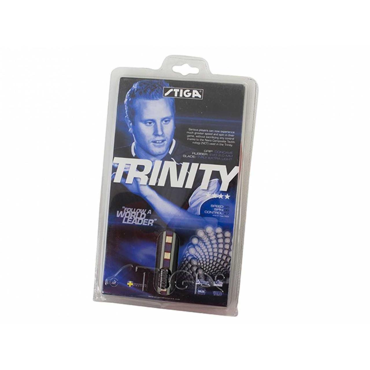 """Ракетка для настільної тенісу """"Stiga Trinity"""" №ST-4"""
