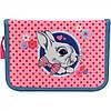 """Пенал """"Kite"""" Cute Bunny 1 відділення, без наповнення, з 1 відворотом (36) №K17-621-1"""
