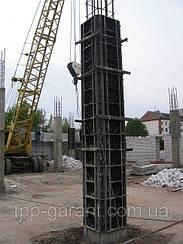 Пластикова опалубка колон