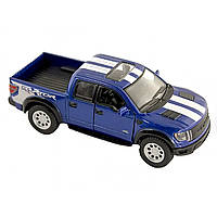 Машина металева Ford F-150 SVT Raptor Supercrew Kinsmart KT-5365-WF в коробці