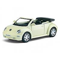 Машина металева Volkswagen New Beetle Convertible 2003 Kinsmart, в коробці KT-5073-W