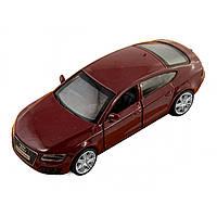 Машина металева Audi A7 Автопром, відчиняються двері, в коробці 67306
