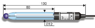 Промышленный рН-электрод ЭС-10602 (ЭСП-04-14)