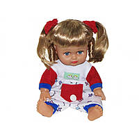 Лялька Аліна JT5139/40/5055/56 26см розмовляє й співає російською в рюкзаку 3 види