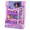 Лялька мал. з сестричкою, ліжечко,в кор-ці,22х9х16см №К899-17 (24)(48) КІ