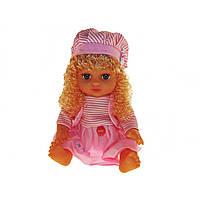Лялька Аліна музикальна на батарейці JT5078/79/57/68 26см розмовляє й співає російською в рюкзаку 4 види